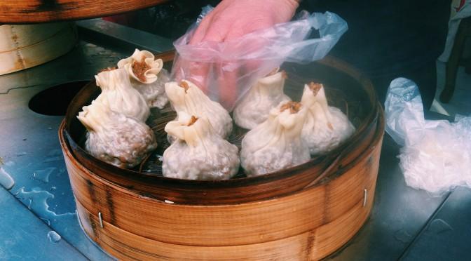 Shāomai – Shanghai glutinous rice dumpling – 烧麦