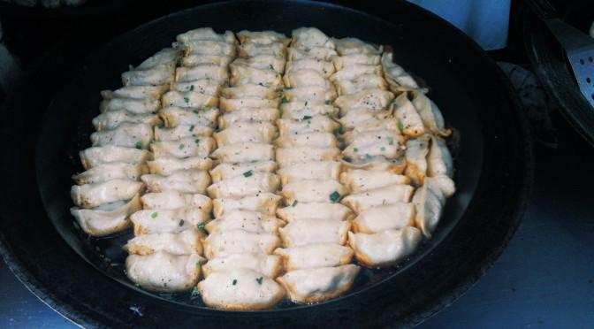 Guō tiē – Potsticker dumplings – 鍋貼