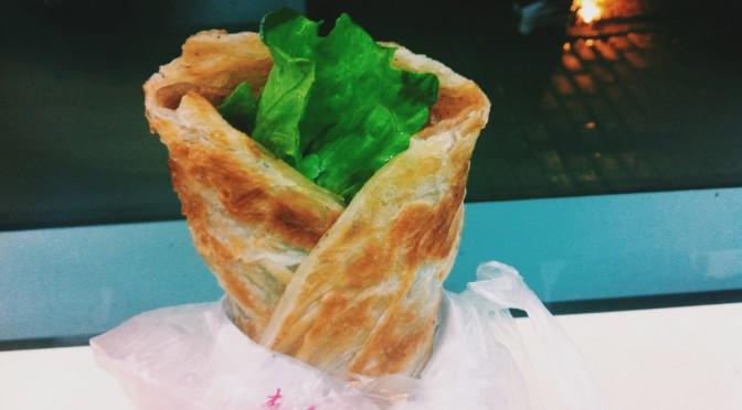 Shǒu Zhuā Bìng – Hand-grabbed Pancake – 手抓并
