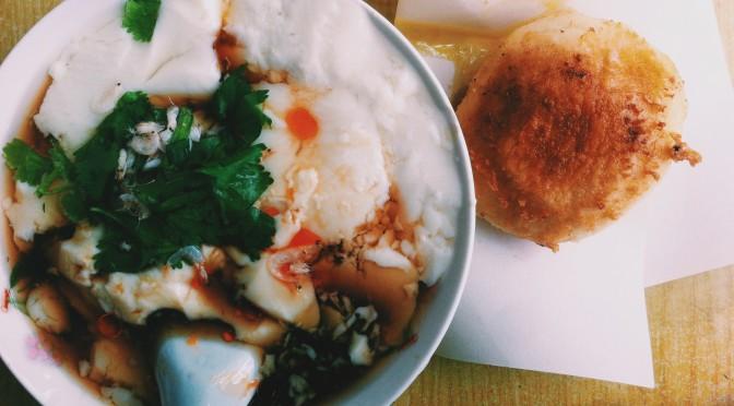 Dòu Huā – Tofu Soup – 豆花