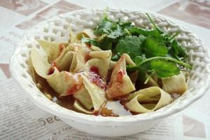 """Gǎ Ba Cài – Pancake Stripe """"Noodles"""" – 嘎巴菜"""
