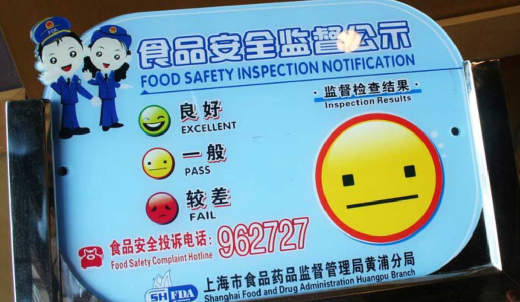 Shanghai Street Food Safety