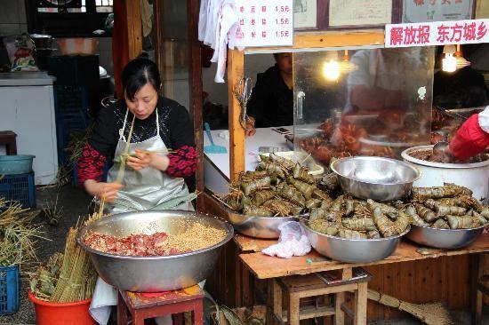Zong Zi – Glutinous Rice Balls – 粽子